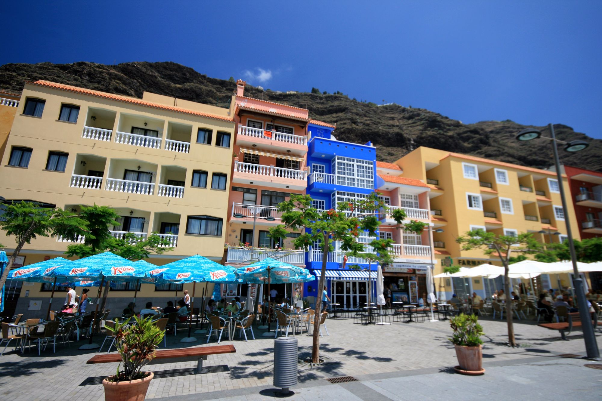 Self-catering apartments tazacorte el puerto la palma