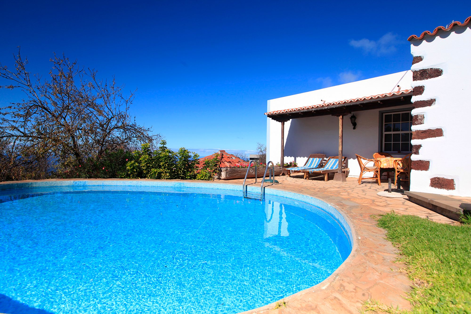 Casa Rural Herenio Puntagorda with private pool