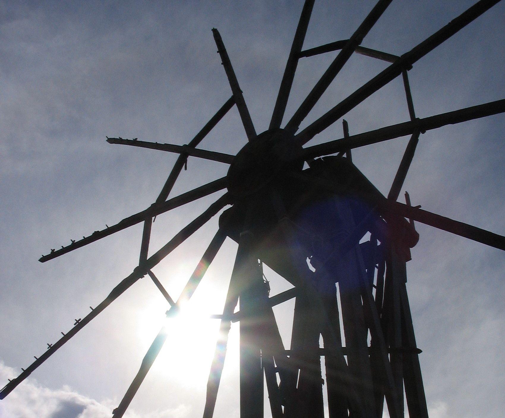 one of several windmills  in garafia