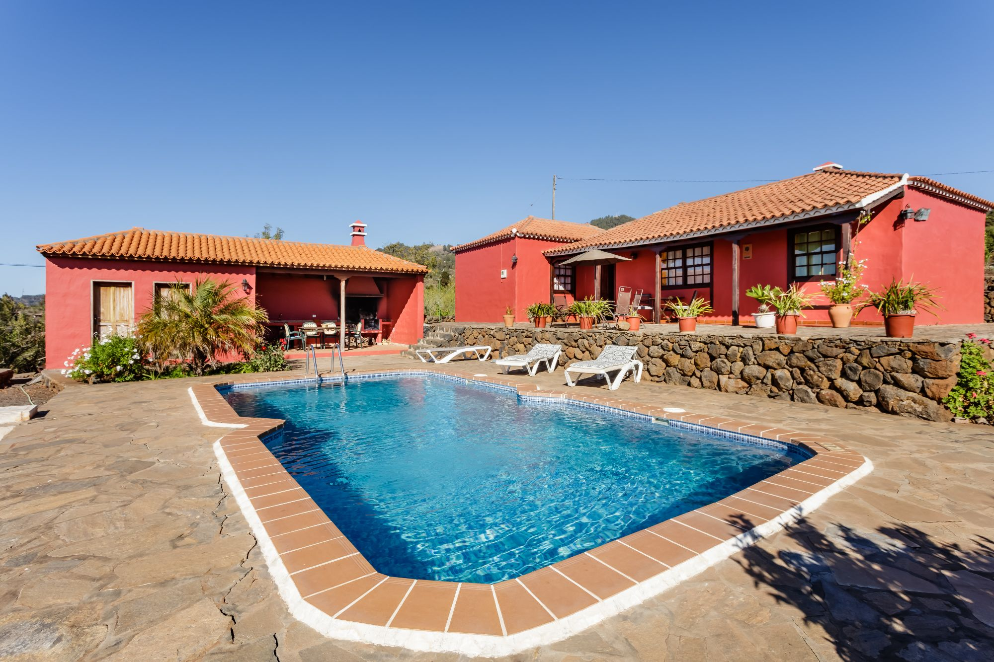 Casa Verada with private swimming pool Puntagorda
