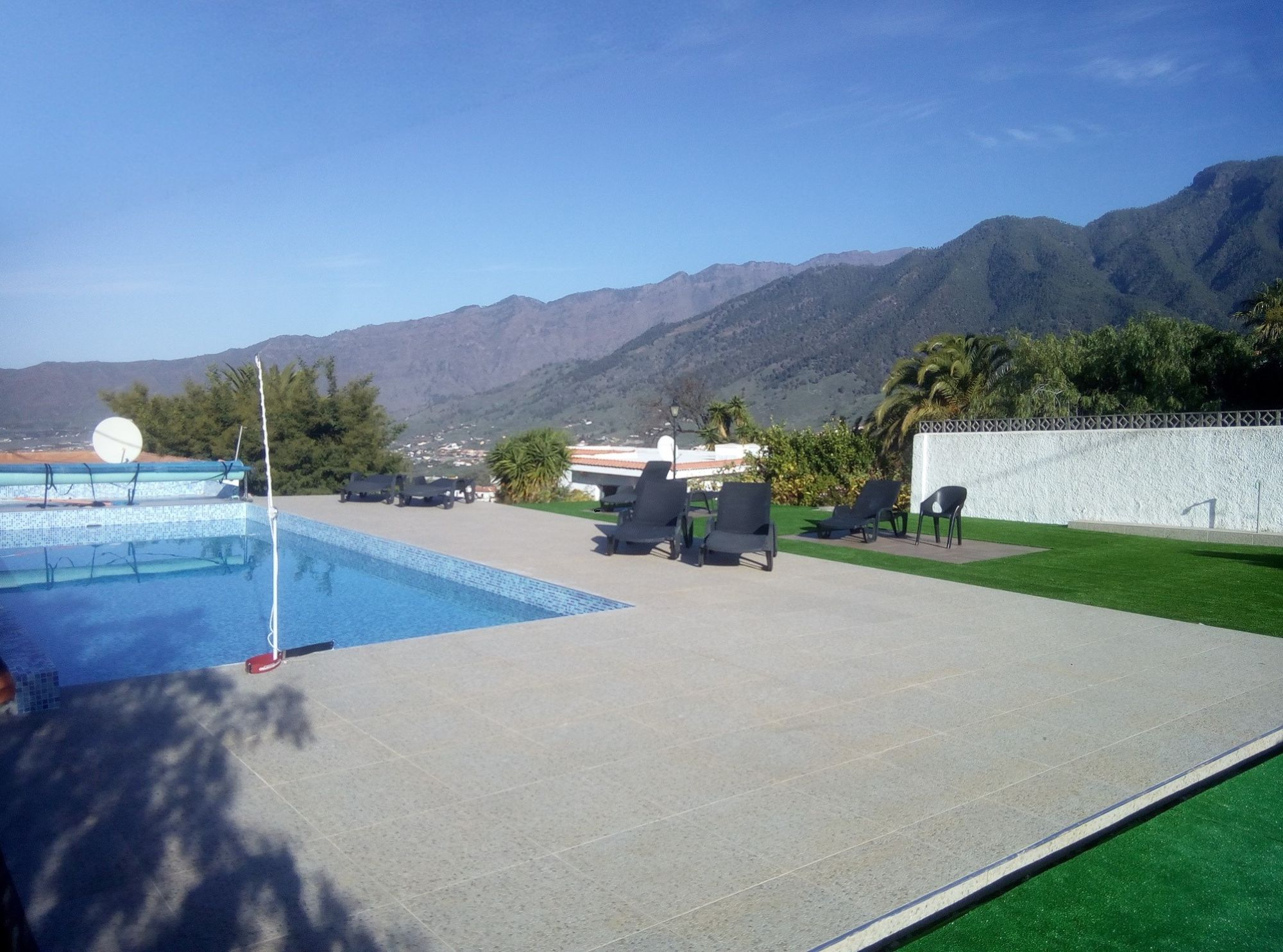 Accommodaiton with shared swimming pool la Palma