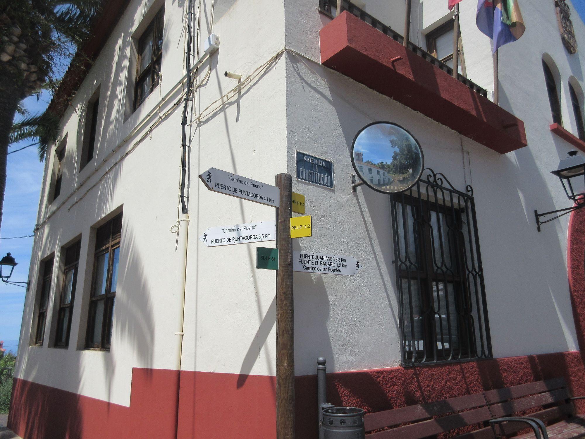 Ayuntamiento Puntagorda Town Hall