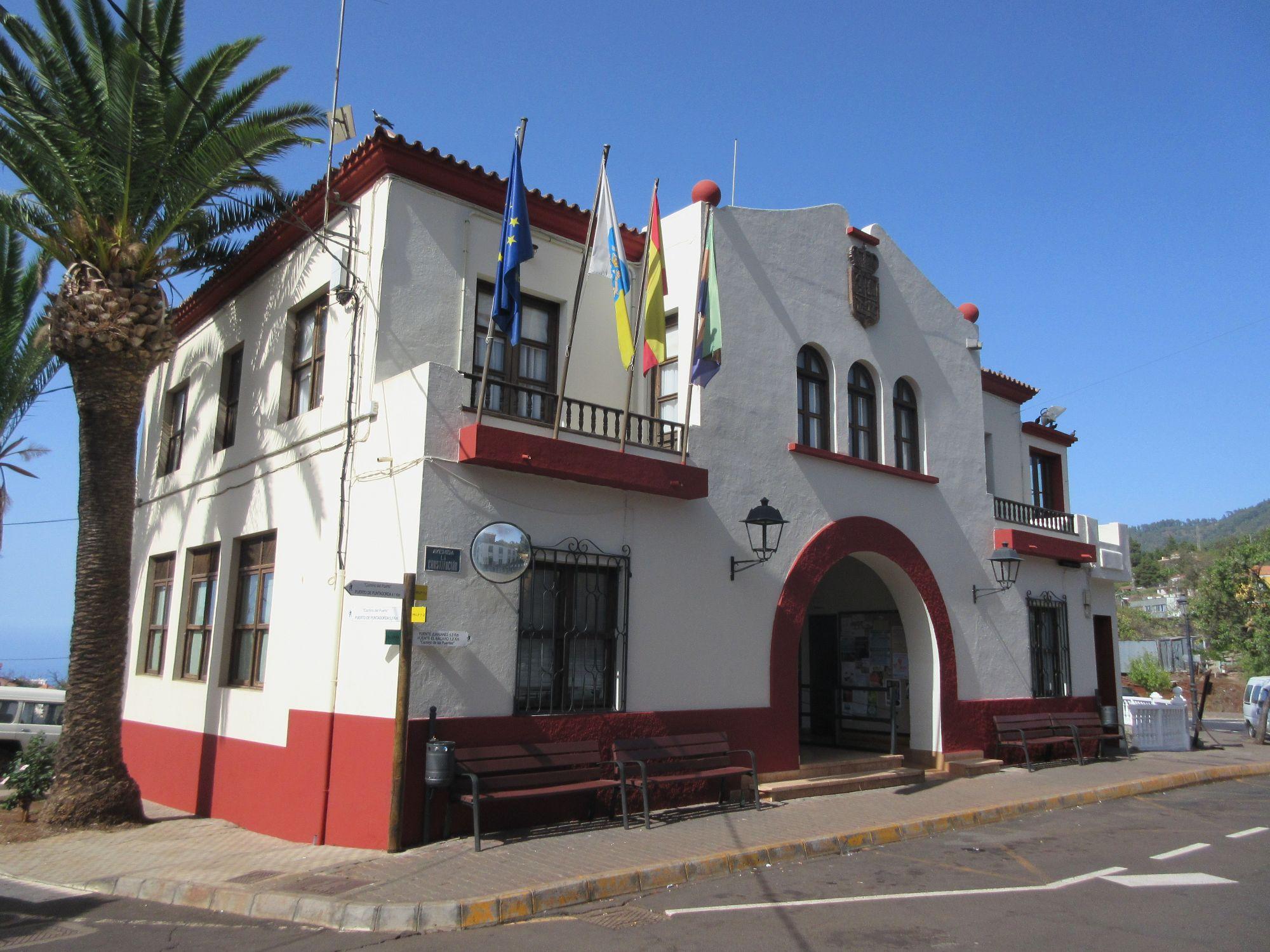 Town Hall Ayuntamiento Puntagorda la Palma