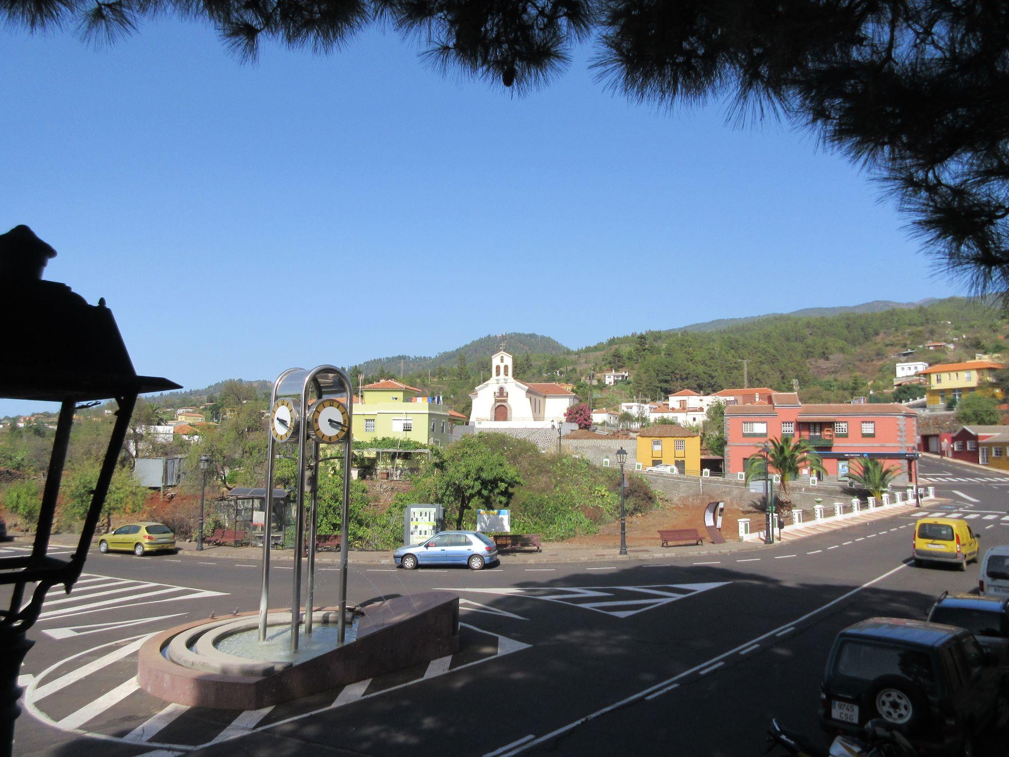 Puntagorda town La Palma
