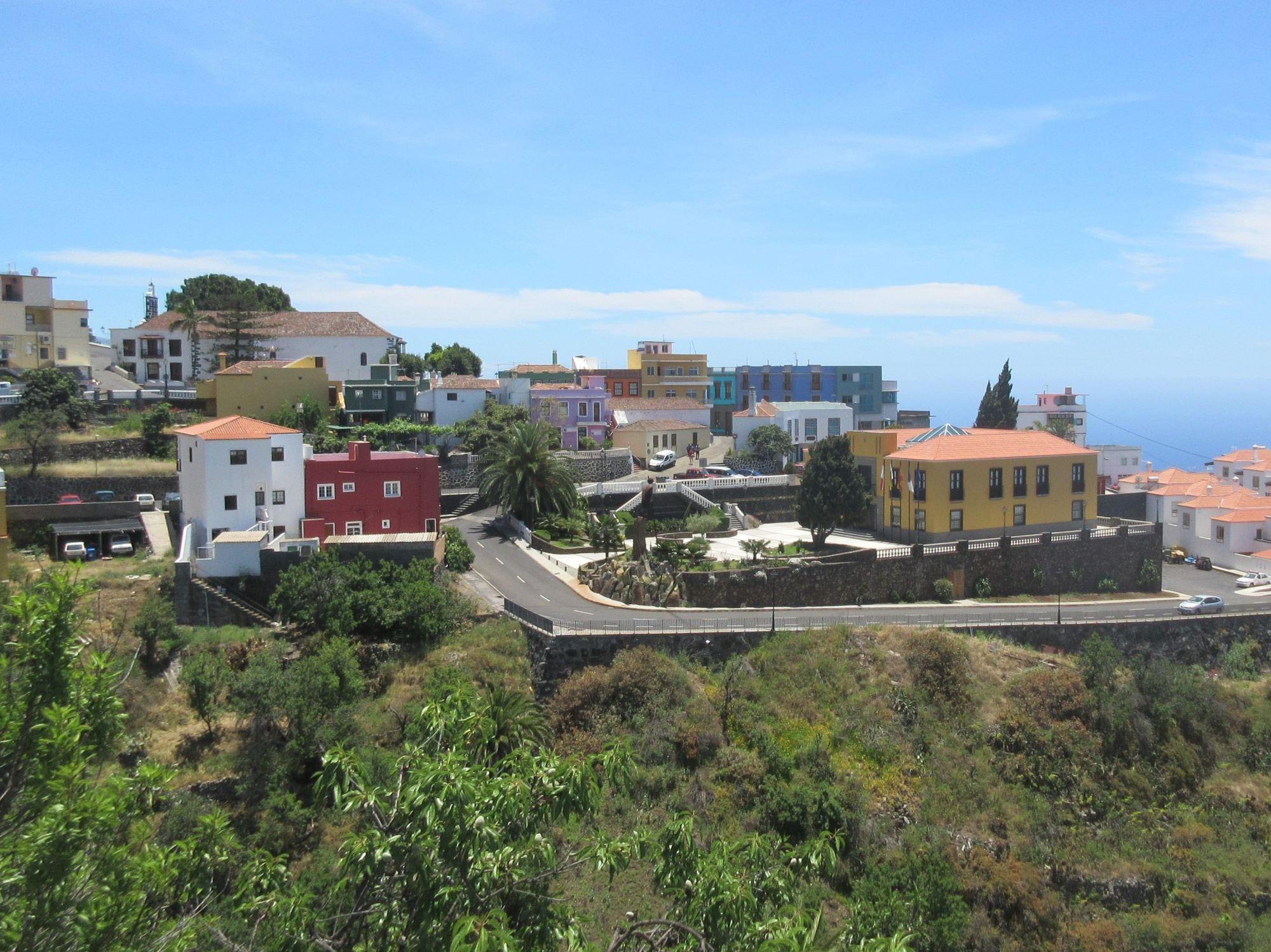 Tijarafe town la Palma
