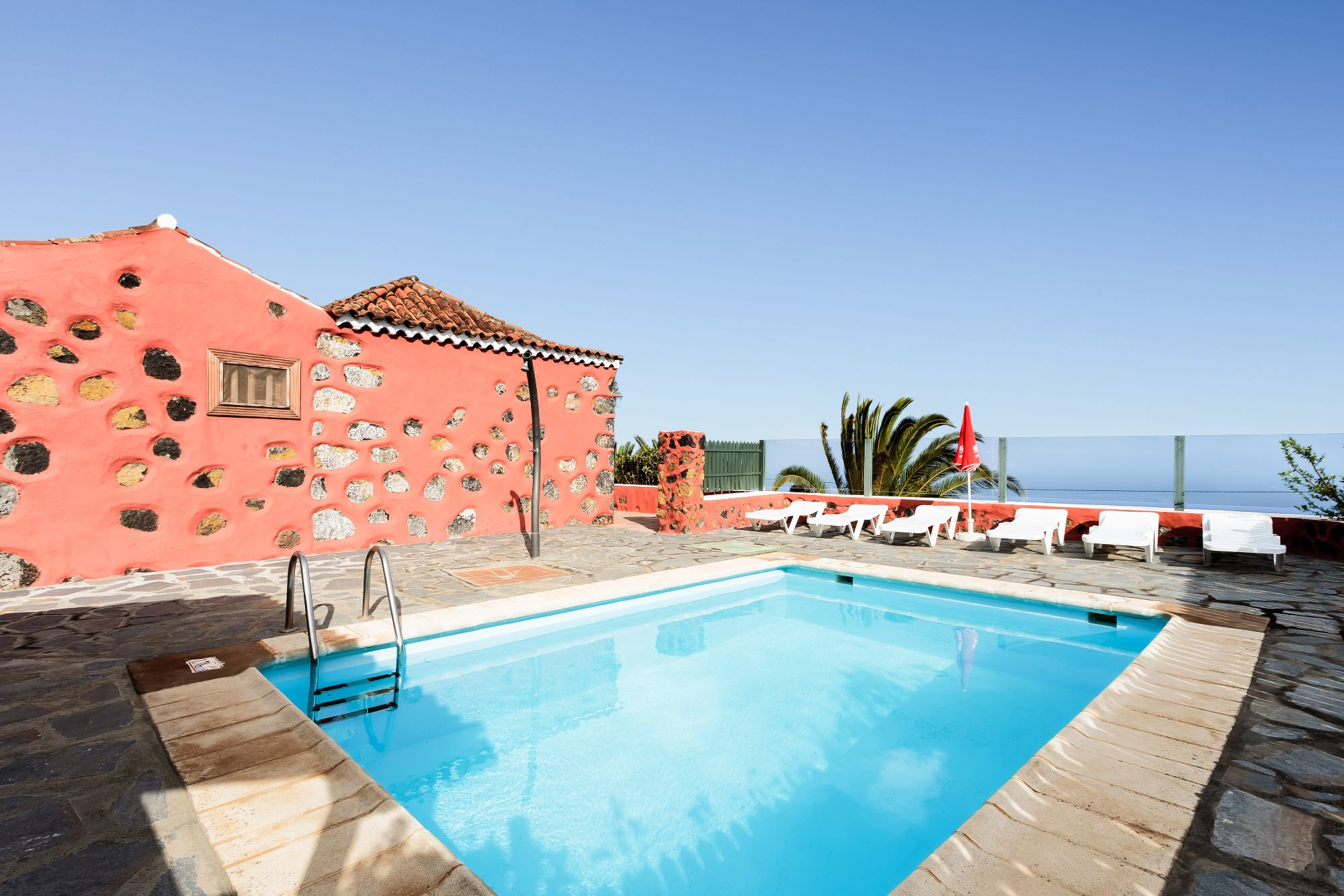 Casa Draguitos with swimming pool, Mazo, La Palma