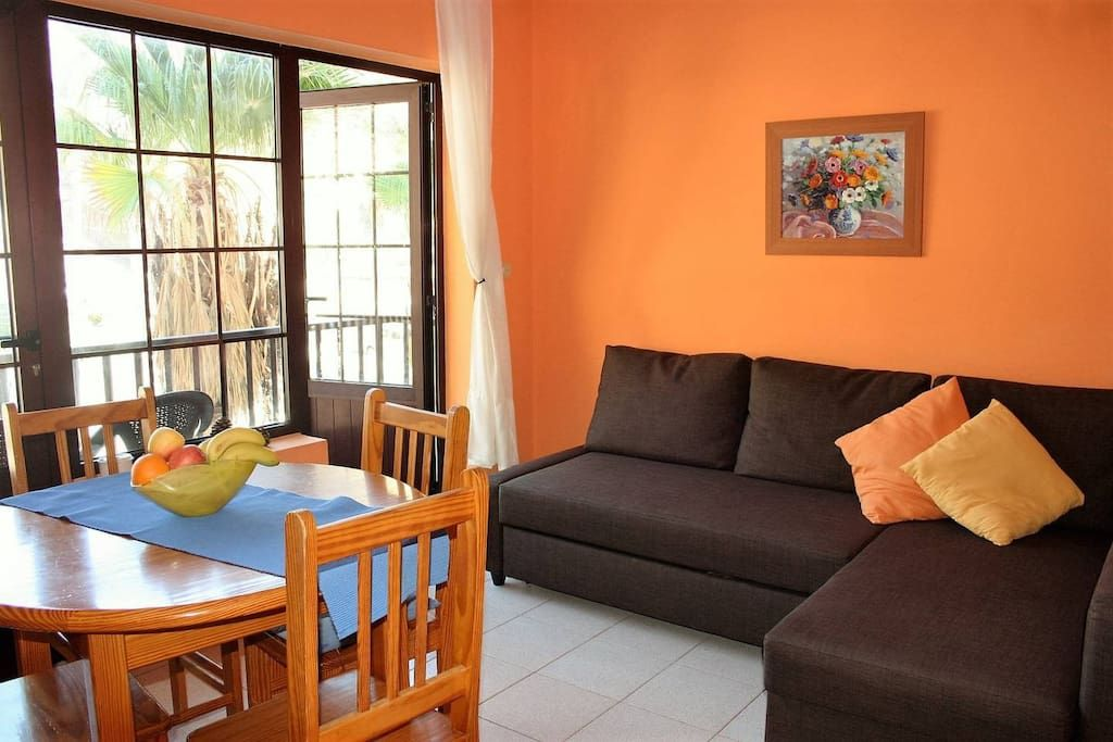 self-catering apartment 2-bedroom tazacorte Puerto