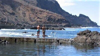 Sea pools La Fajana de Barlovento, La Palma