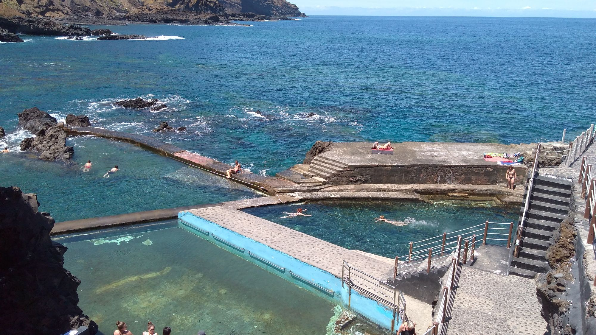 swimming pools la fajana de barlovento la palma
