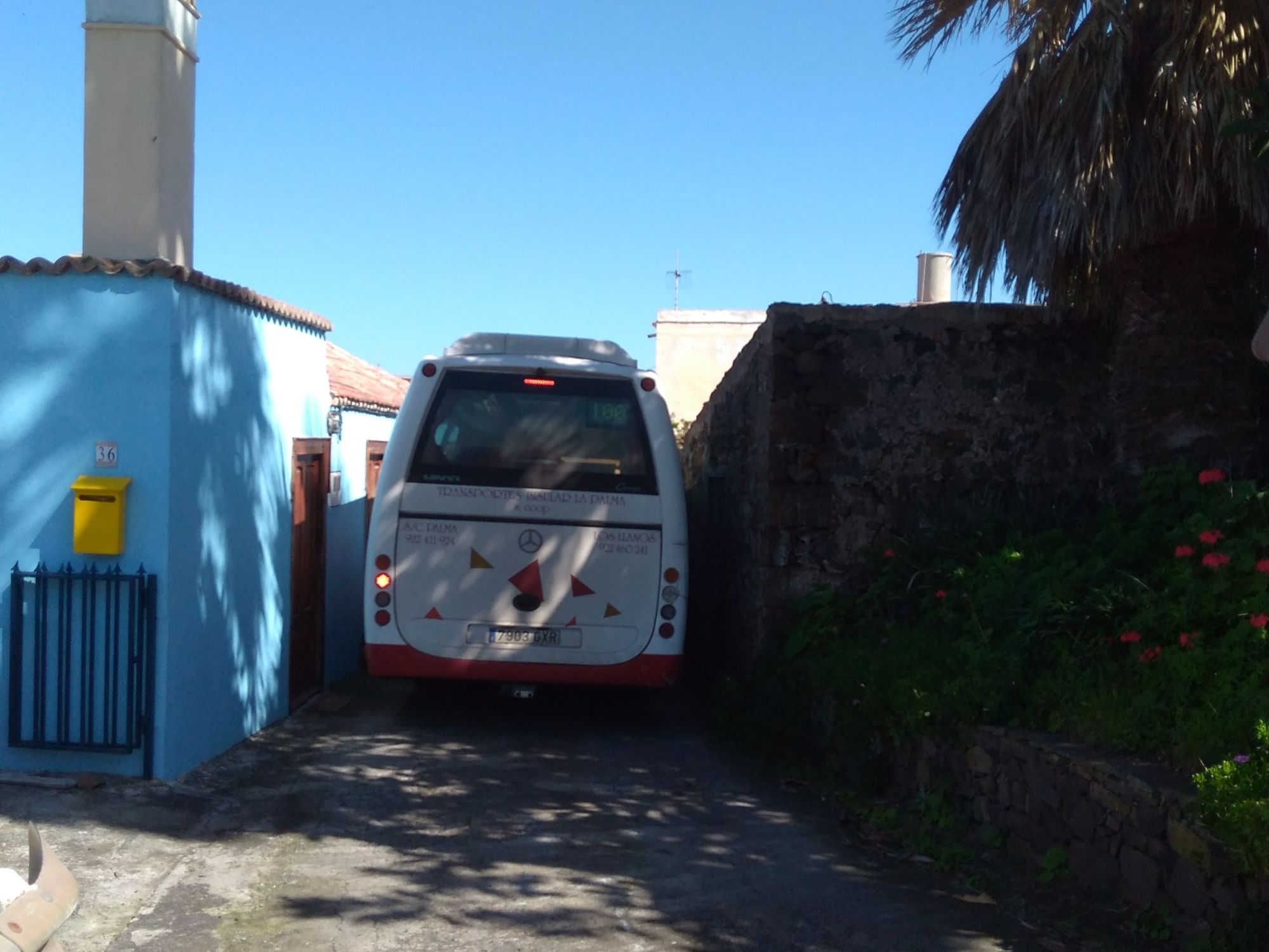 bus in franceses going to Barlovento