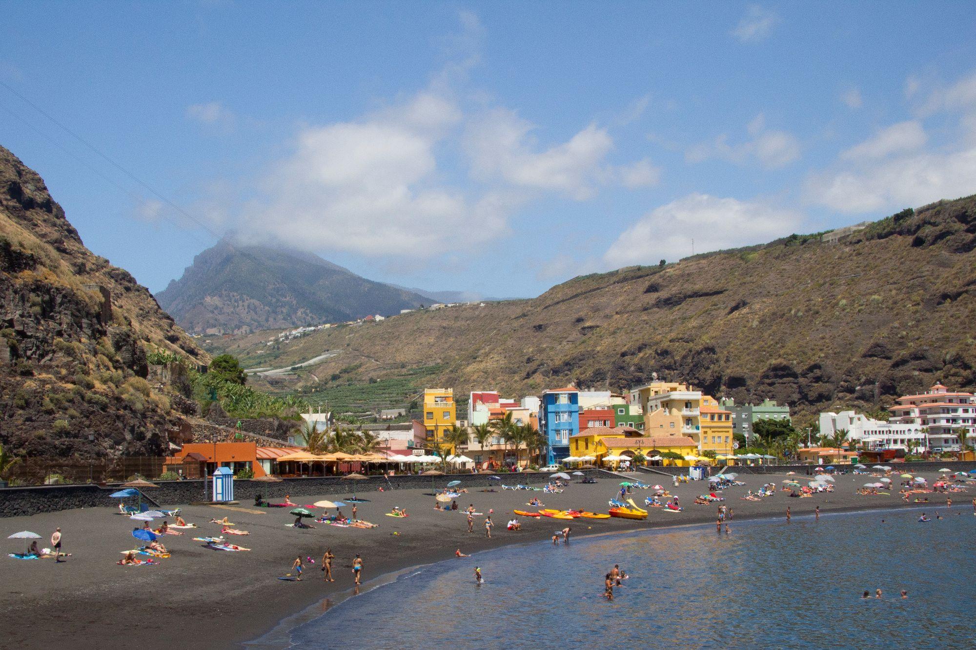 tazacorte beach puerto la palma
