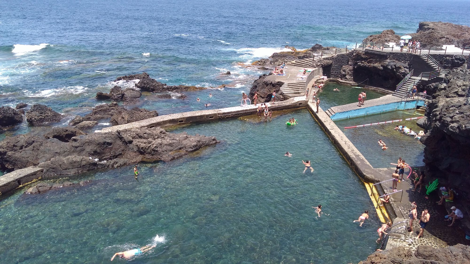 sea pools la fajana