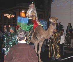 Los Reyes, Three kings