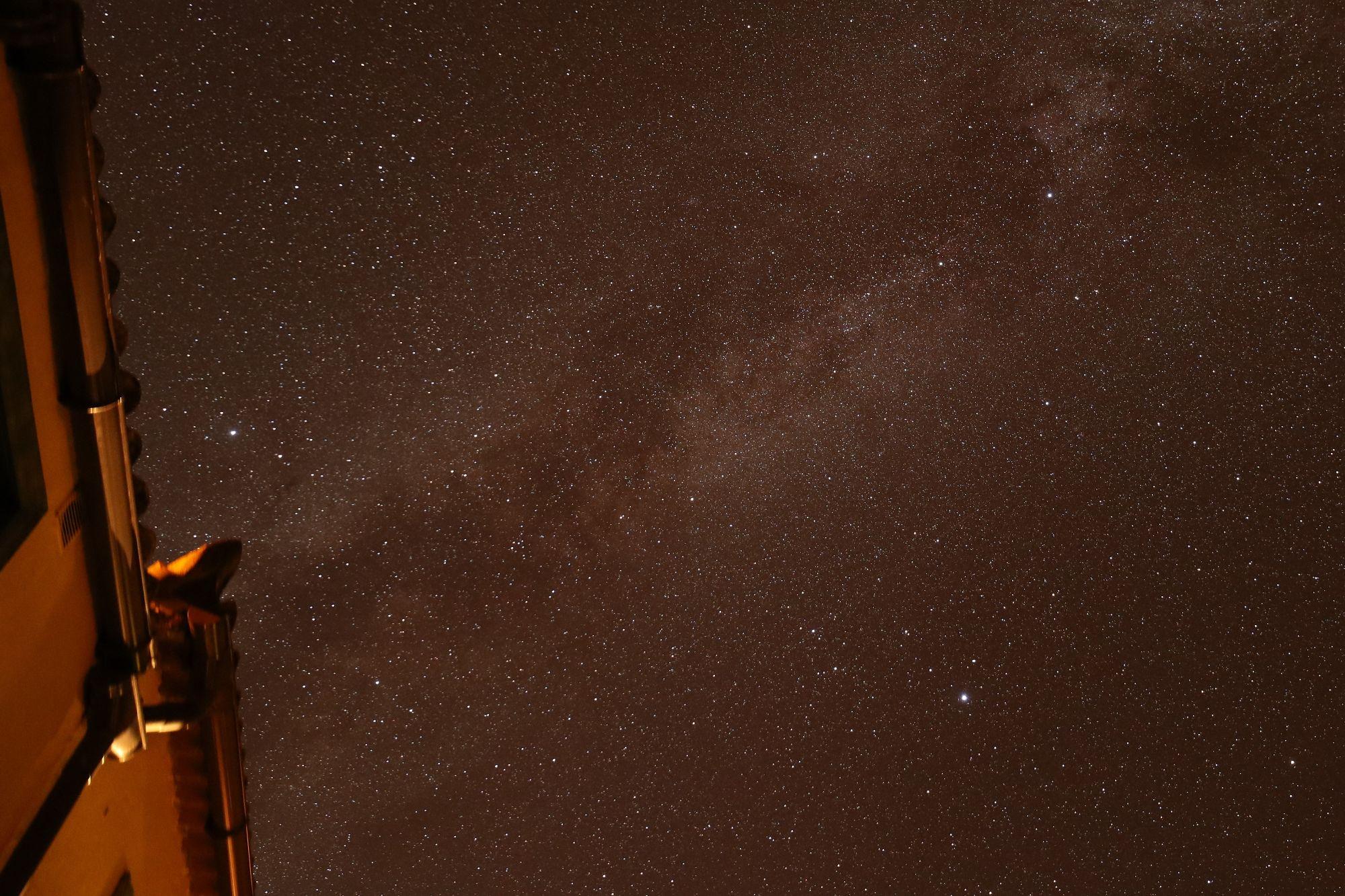 Mily Way above Casa Gloria, Garafia