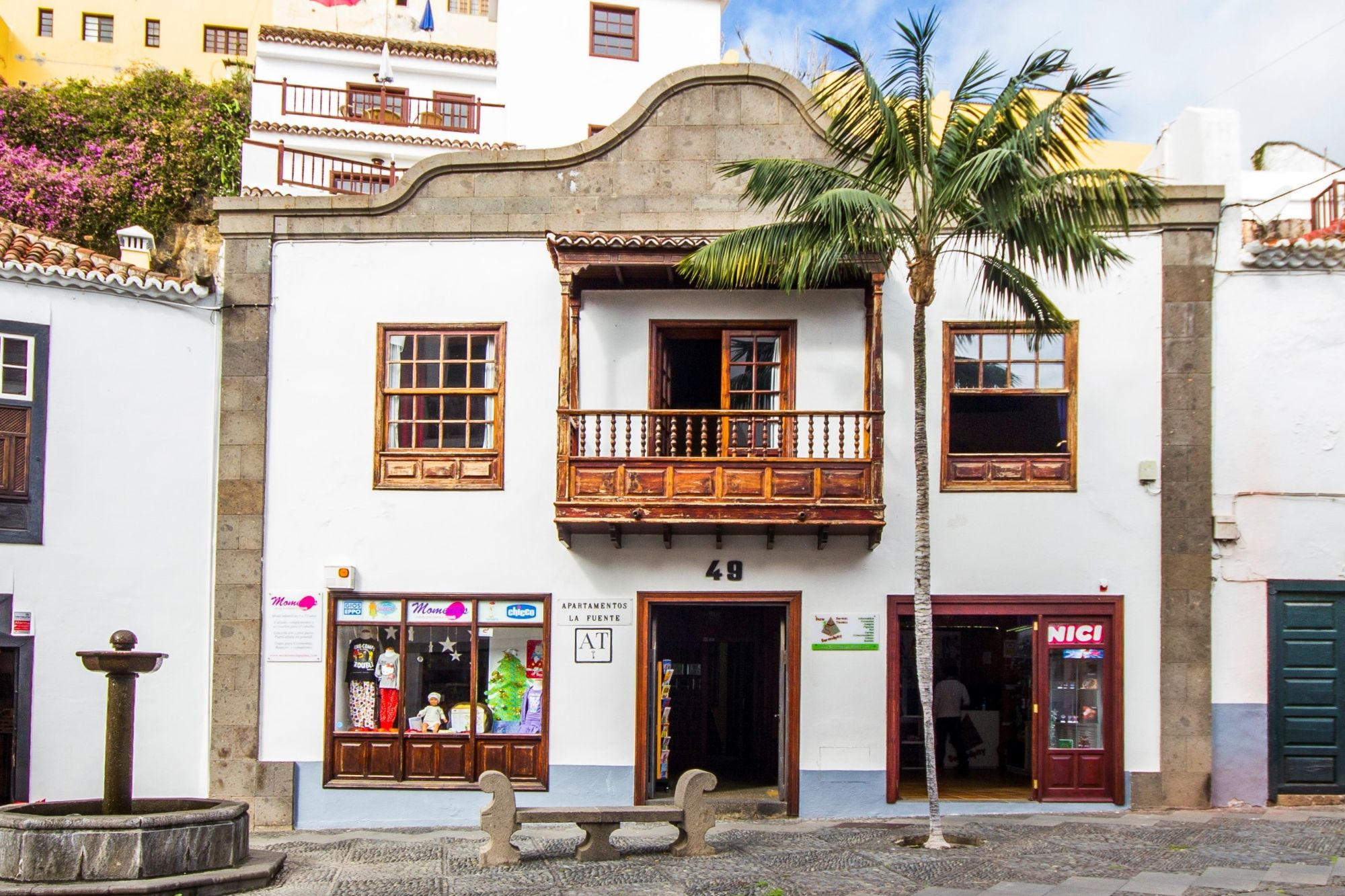 Self-catering apartments la fuente Santa Cruz de la Palma