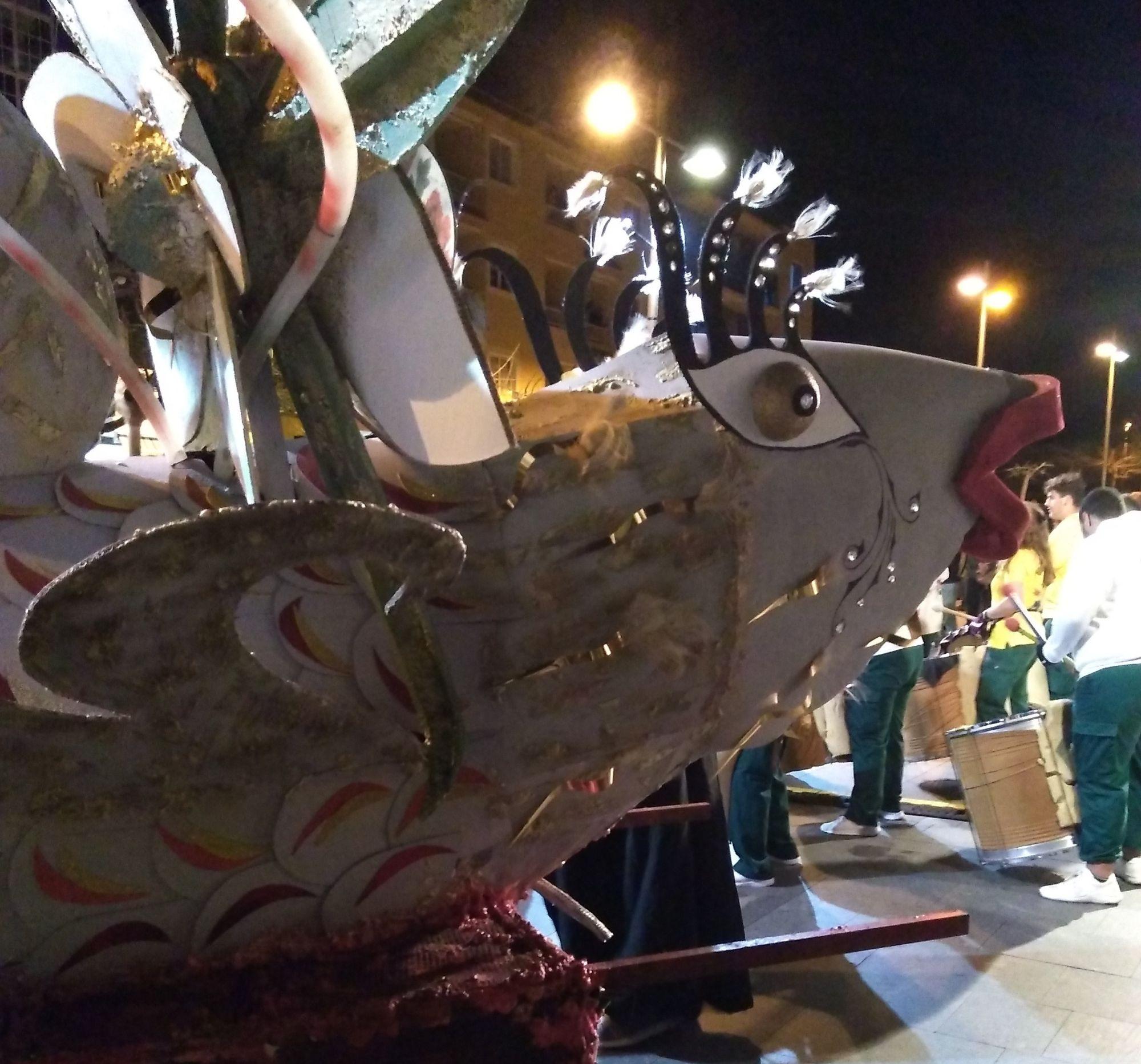 enterro de sardina