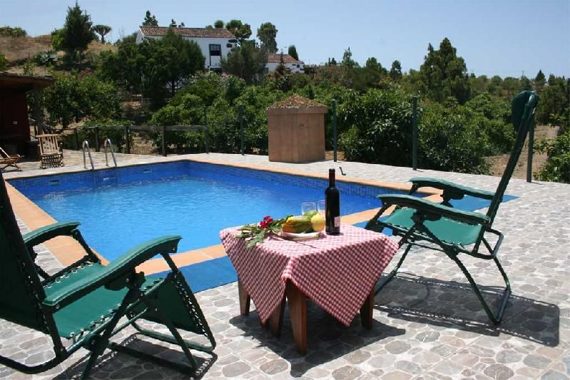 family house with swimming pool, las tricias, garafia la palma