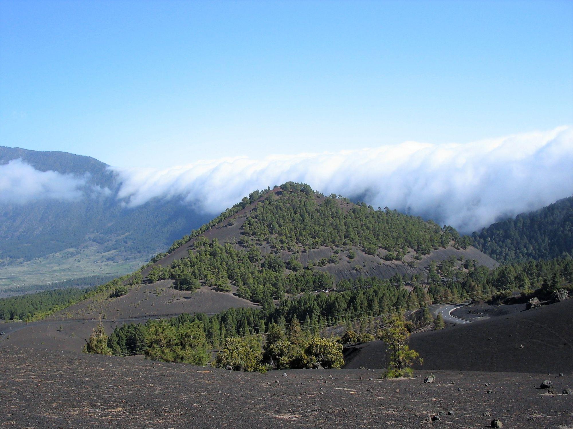 La Cascada clouds El Paso