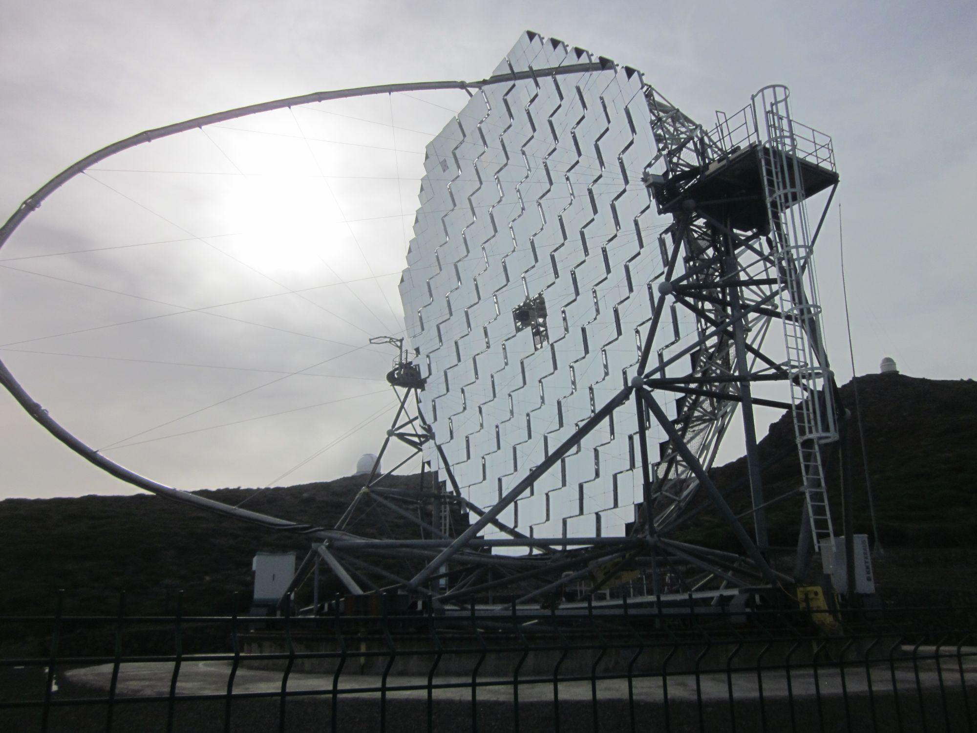 MAGIC telescope la palma