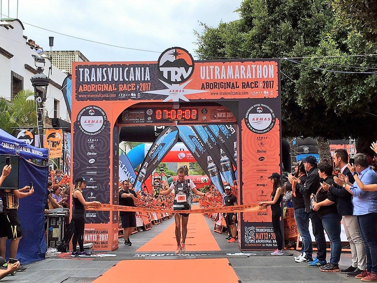 Transvulcania winner La Palma
