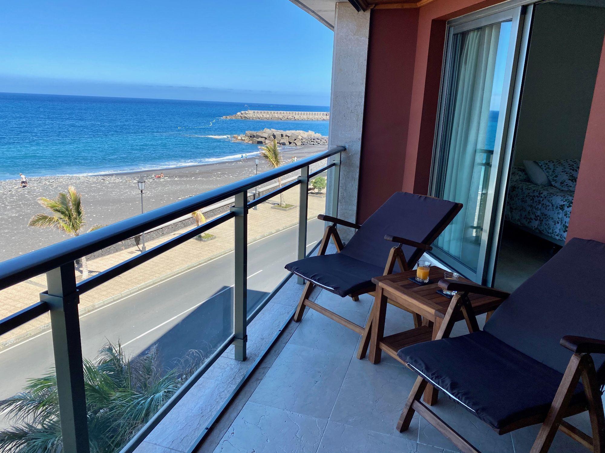 sea view apartment Tazacorte