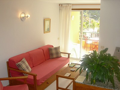 holiday accommodation to rent La Palma - lounge of apartment