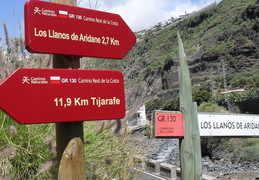 GR130 Camino Real Los Sauces to Tijarafe