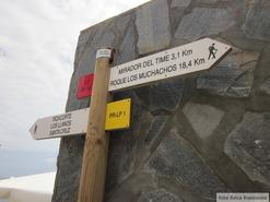 GR131 le baston from Tazacorte to Fuencaliente