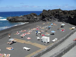 beach los cancajos, la palma, canary islands, spain