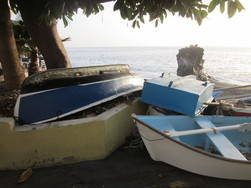 Puerto Naos fishing boats