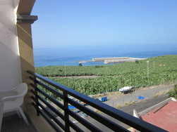 apartment with sea view tazacorte