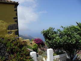 side view La Casita holiday cottage, La Palma
