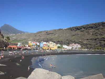 Playa de Tazacorte la Palma Canary Islands
