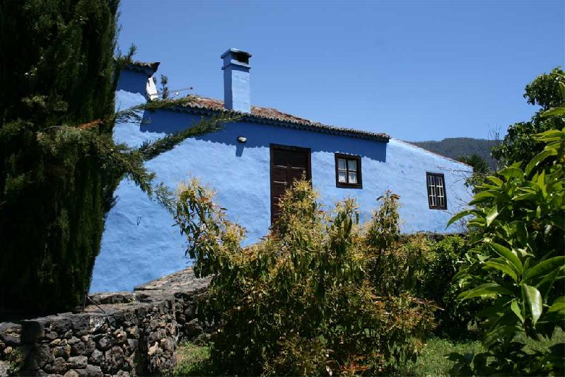 Casa La Higuerita rear garden
