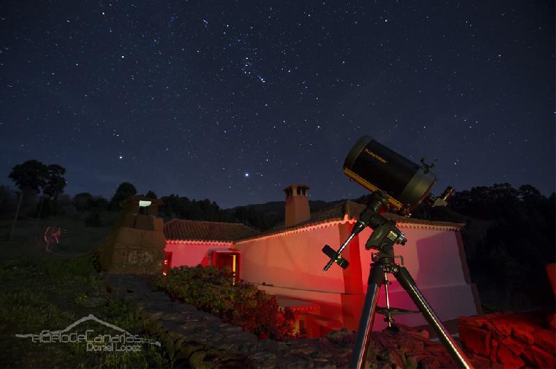Casa Rural Colmnero Garafia ideal for star gazing astronomy La Palma