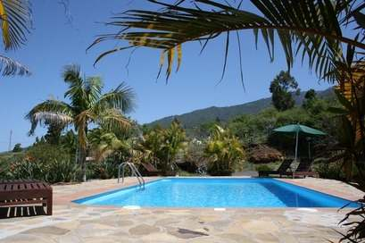 holiday home with swimming pool west la palma