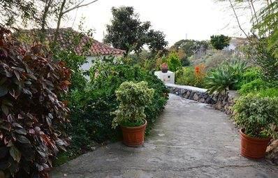 Casa El Lomito garden