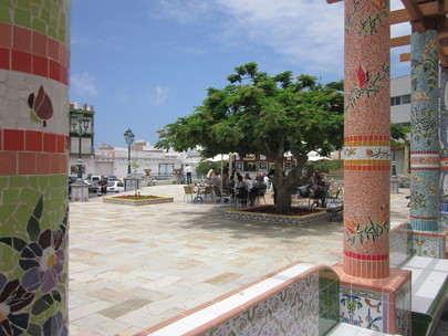 Pueblo de Tazacorte plaza