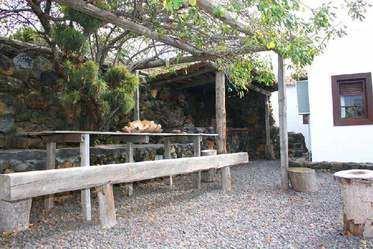 Casa El Rincon BBQ area