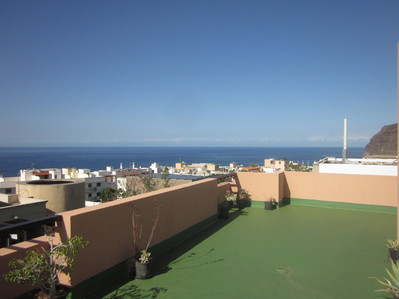 Apartment long-let winter holiday tazacorte pueblo la palma canarias