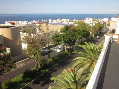 Apartment long let tazacorte with sea view