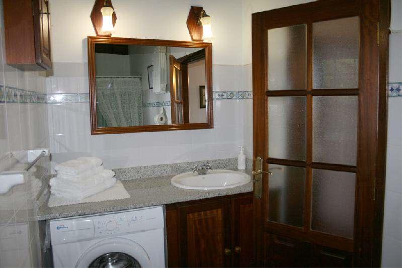 Casa El sitio la Rosa bathroom