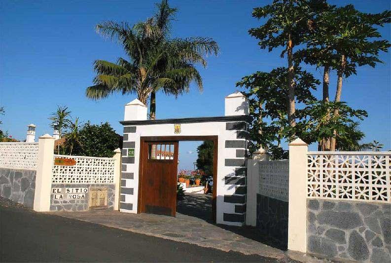 Casa El Sitio la rosa entrance