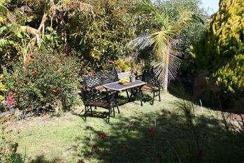 Casa Ines garden seating