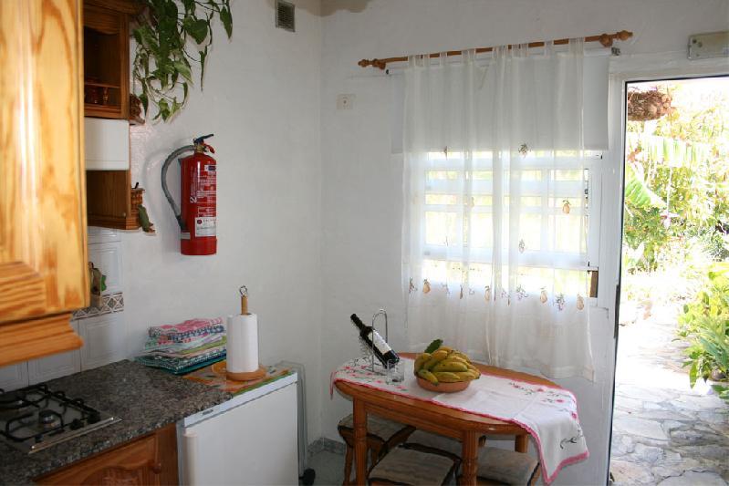 Casa Ines kitchen door