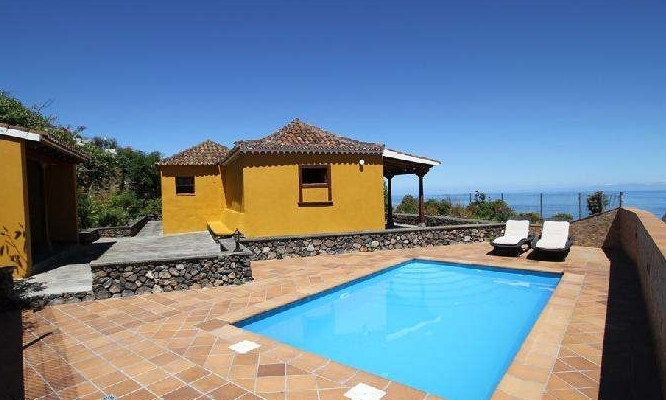 2-bedroom house with private pool la palma canaries