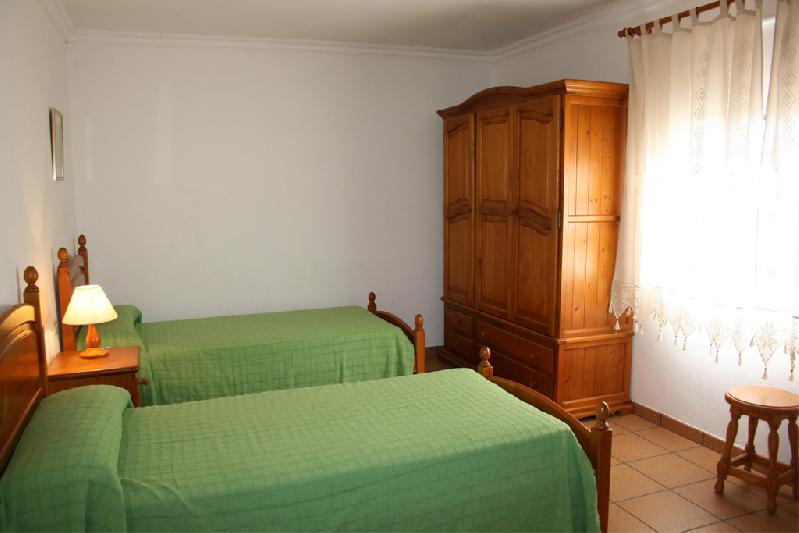casa Peluquina bedroom