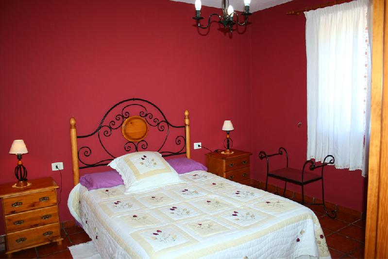 Rural Casa La Verada with double bed