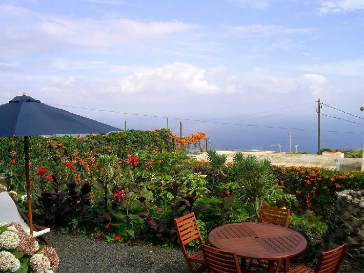 Casa Rosa Maria garden seating