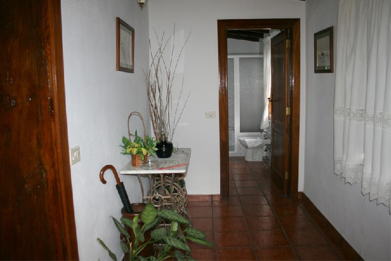 Casa Emiliana hallway